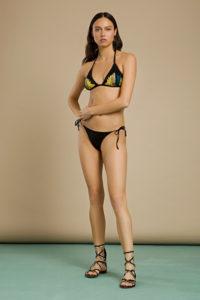 Dwuczęściowy strój kąpielowy z cekinami Elisabetta Franchi