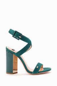 Sandałki na słupku Elisabetta Franchi