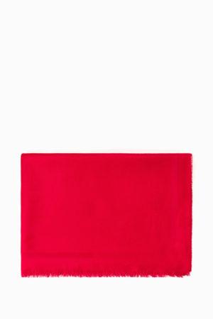 Szalik z logo Elisabetta Franchi 80cm x 200cm