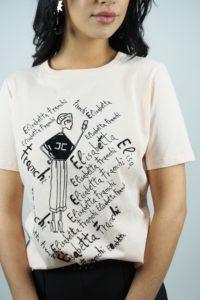 Koszulka z nadrukiem Elisabetta Franchi