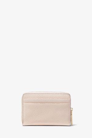Mały skórzany portfel z logo Michael Kors