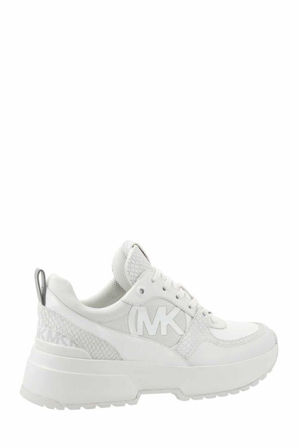 Białe sneakersy BALLARD Michael Kors