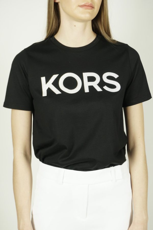 T-shirt z logo Michael Kors