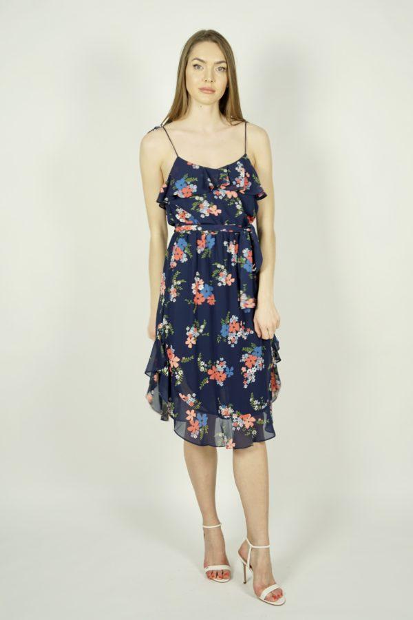 Zwiewna sukienka w kwiaty Michael Kors