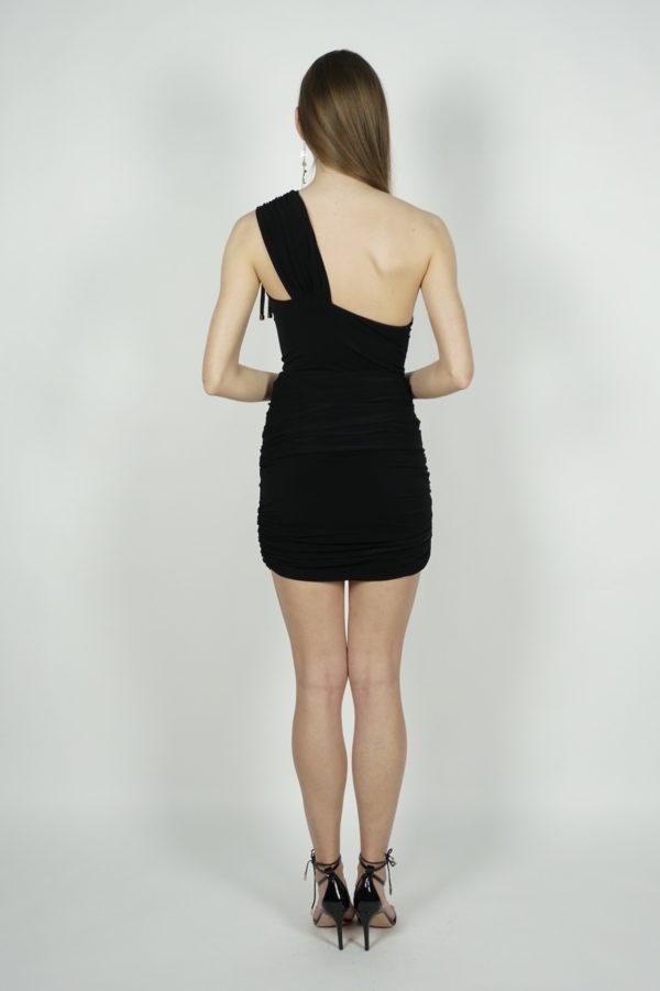Dopasowana sukienka na jedno ramię SIMONA CORSELLINI