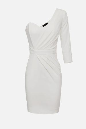 Krótka sukienka na jedno ramię ELISABETTA FRANCHI