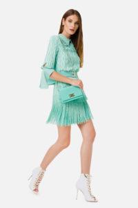 Sukienka z frędzlami ELISABETTA FRANCHI