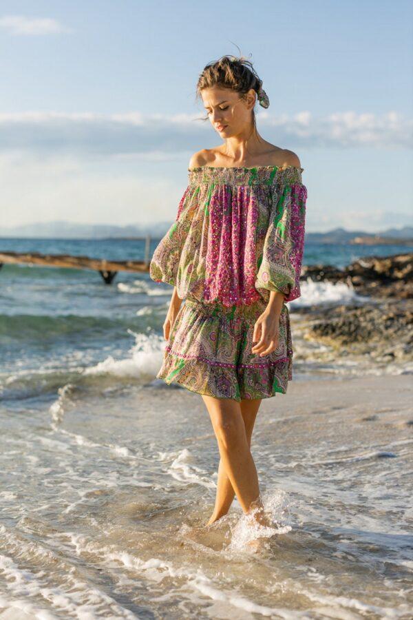 MISS JUNE dress-harem