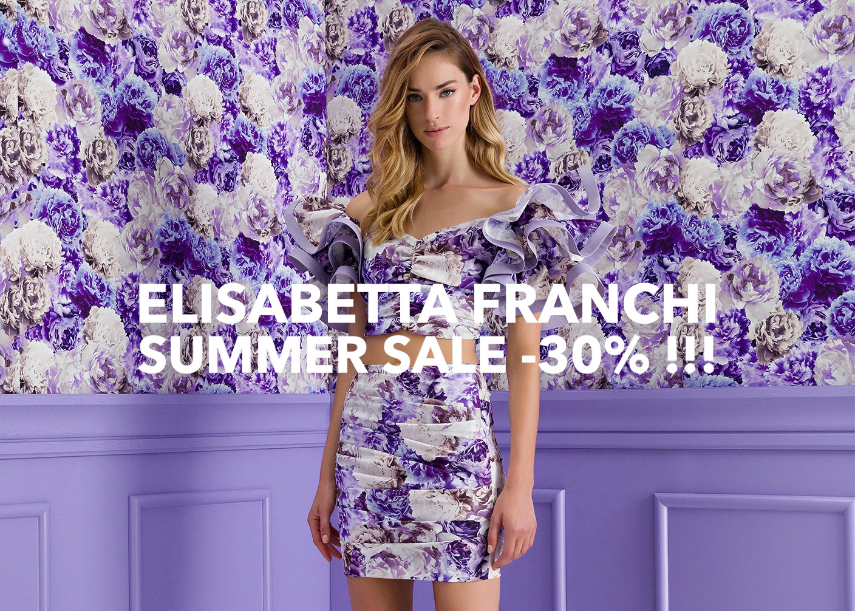 ELISABETTA FRANCHI SUMMER SALE -30%